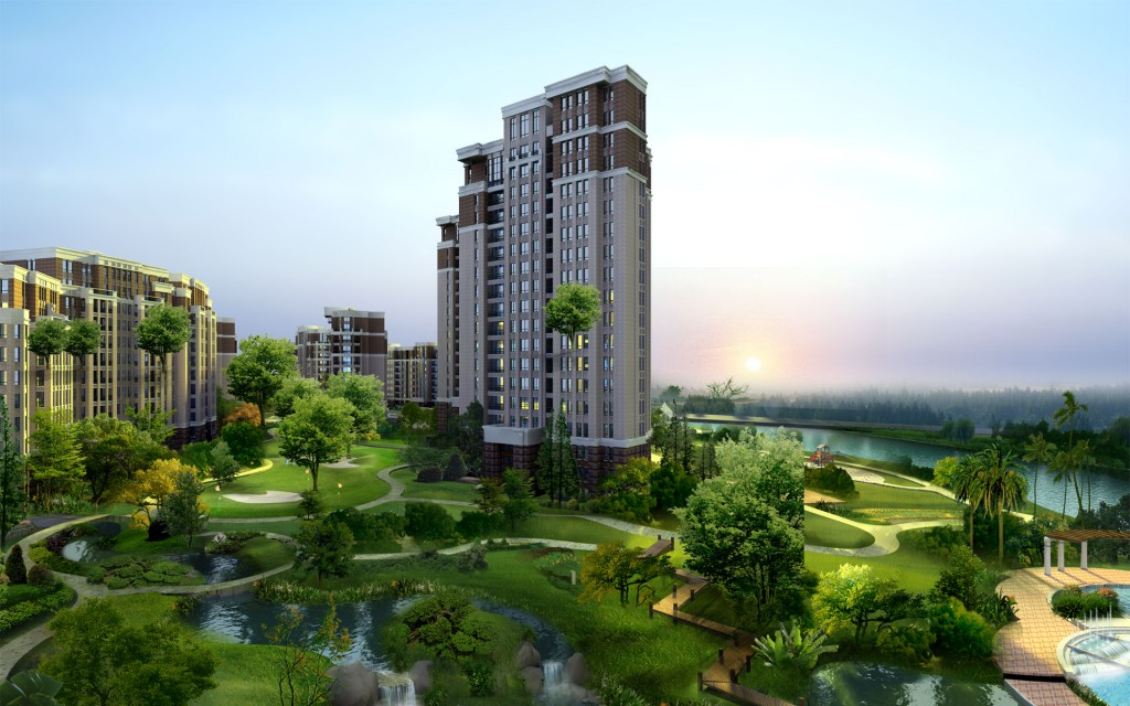 Olympus Lake View Appartment 2 Bhk Sushant Golf City