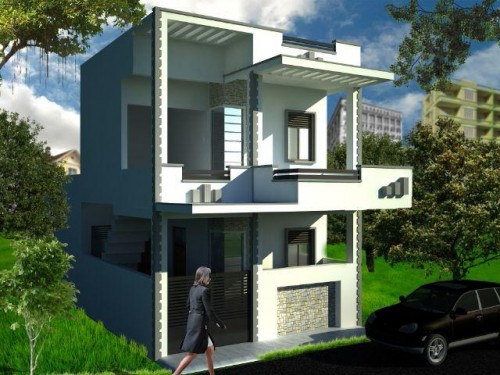 Duplex house for sale in takhrohi indira nagar lucknow for Home architecture in lucknow