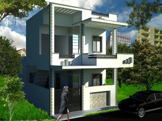Double Story Lda New House For Sale Gomti